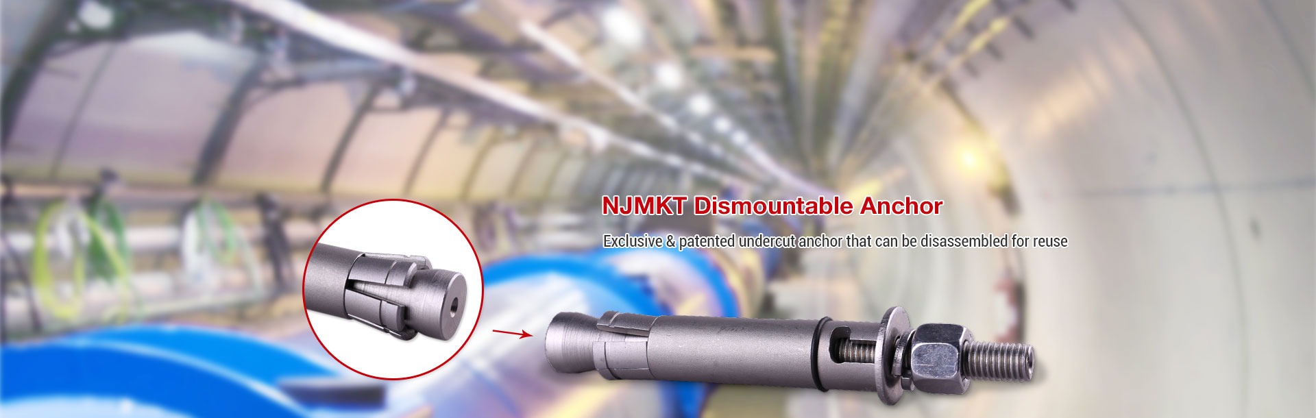 NJMKT Dismountable Anchor
